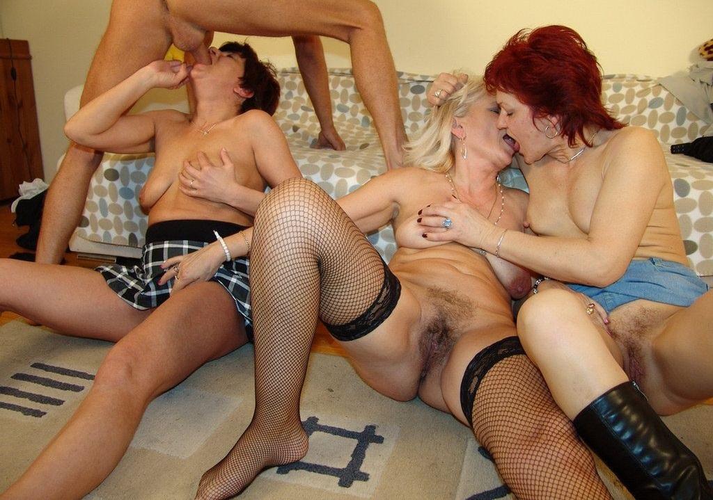 групповуха женщины в возрасте - 1